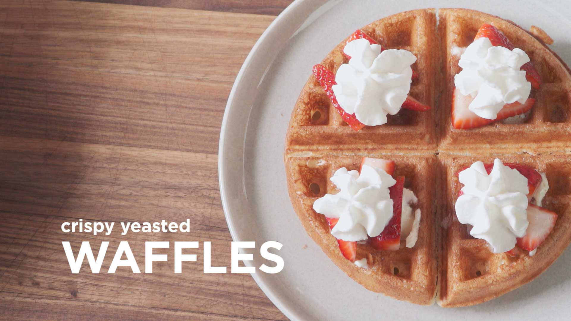 Video: How to Make Incredible Fluffy Waffles