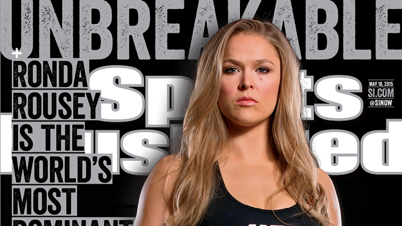 Ronda Rousey on 14-second fight: That's the most brilliant 'ninja s---'