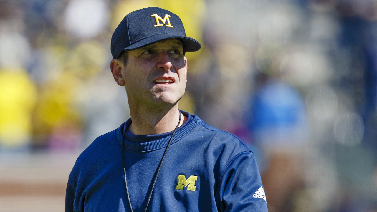 Surrounded by hype, Jim Harbaugh motivated by reality at Michigan