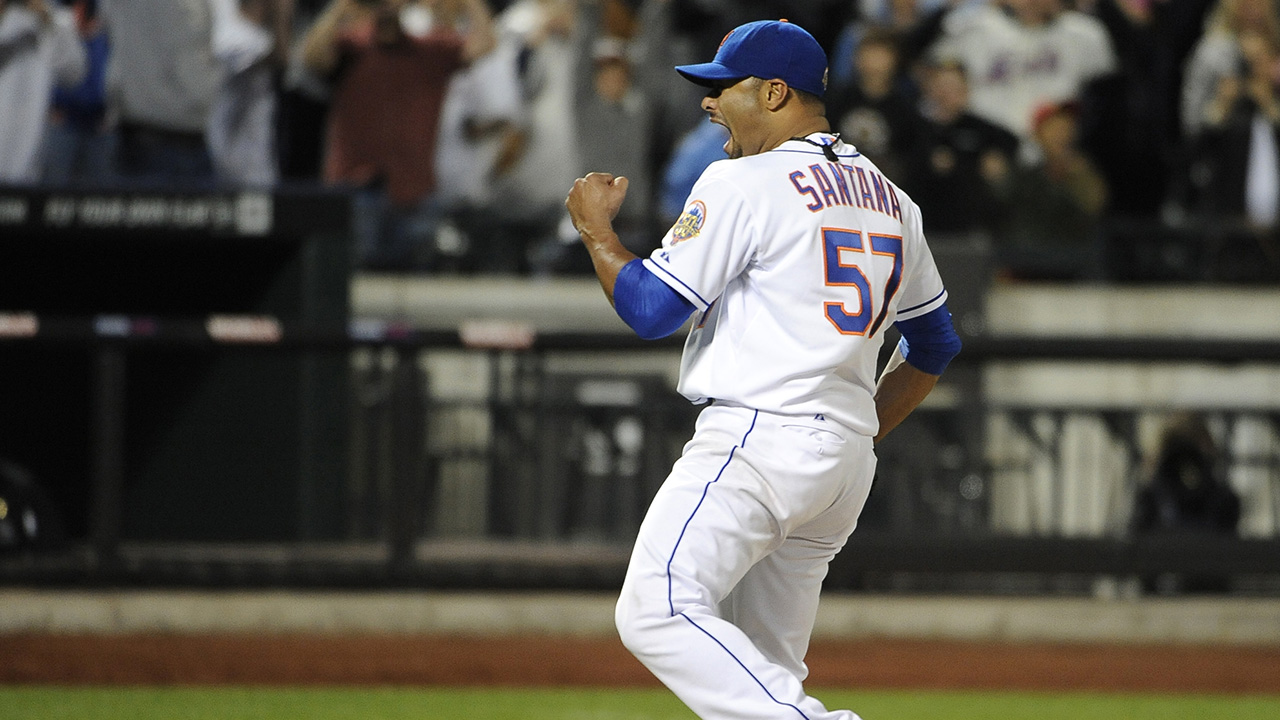 No-no regrets: Johan Santana would not alter a thing. Terry Collins might.