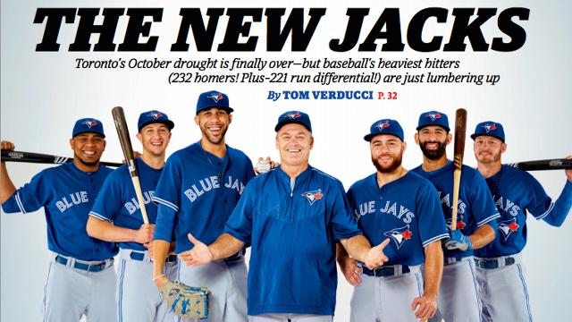 Playoff-bound Toronto Blue Jays featured on Sports Illustrated cover