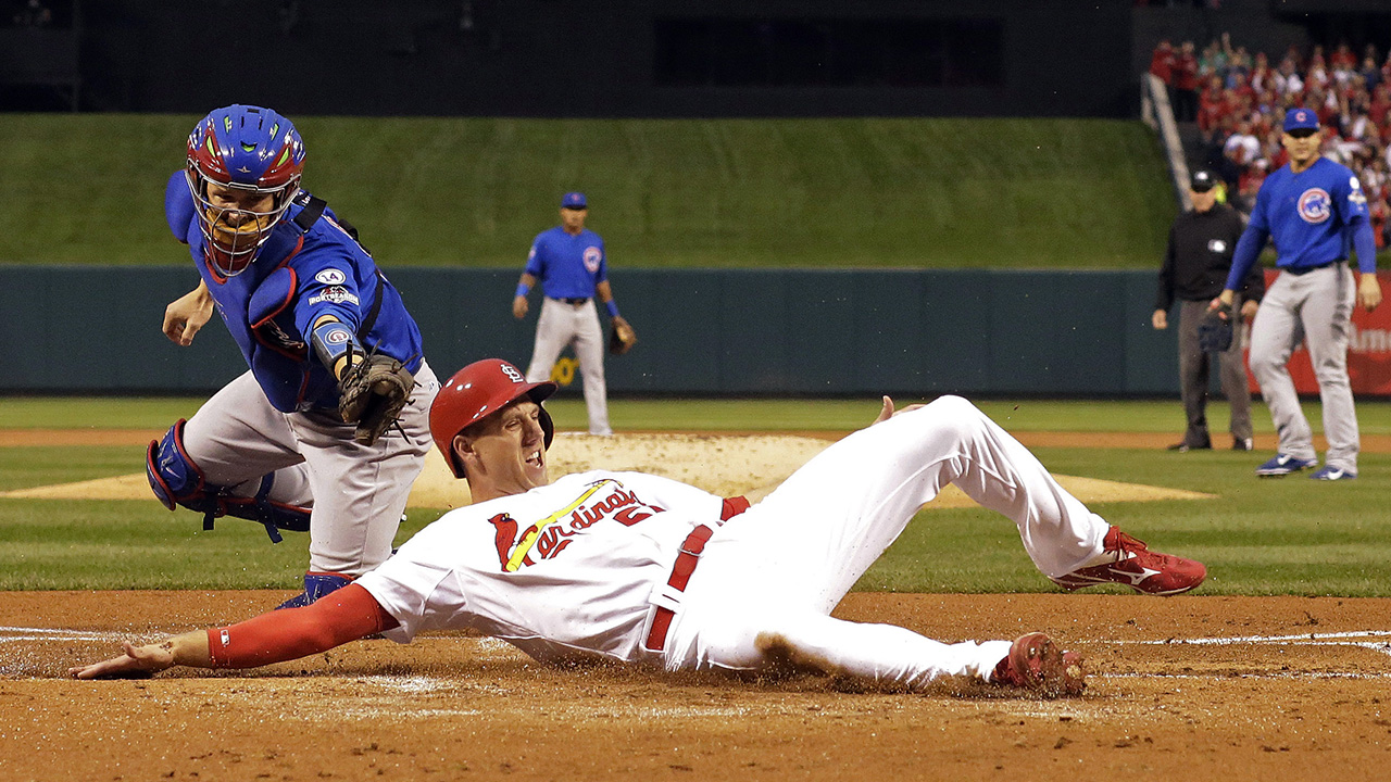 John Lackey, 'The Cardinal Way' stifle rival Cubs in Game 1 of NLDS