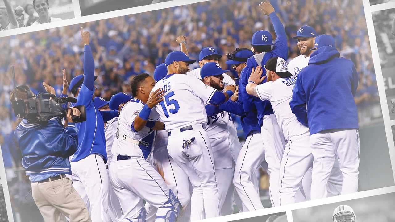 The case for the Kansas City Royals for SI's 2015 Sportsman of the Year