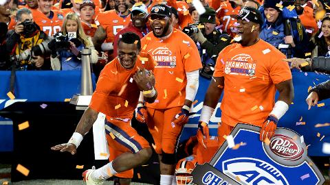 Clemson enters playoff as clear No. 1 with convincing ACC title game victory