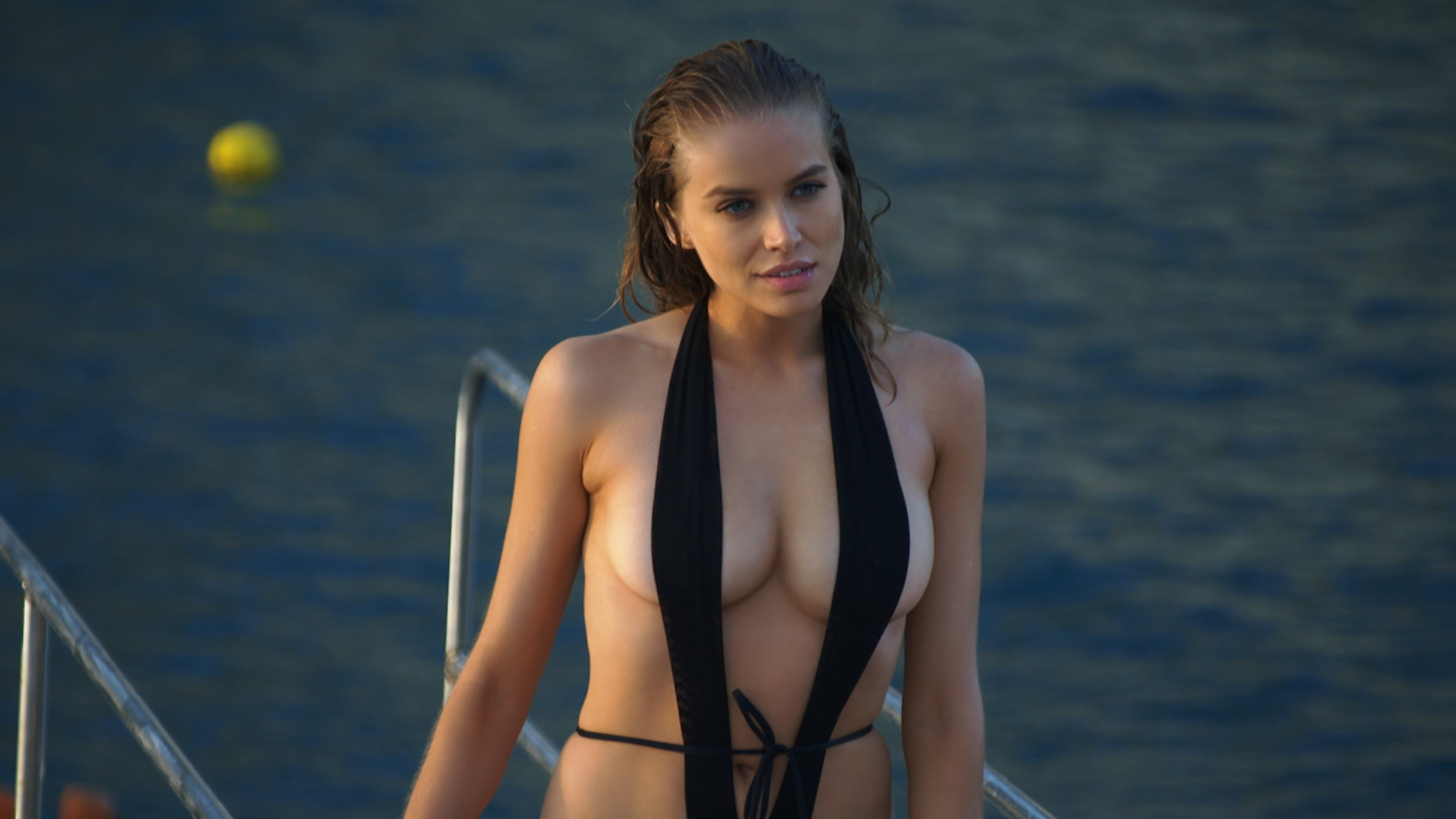 Watch rookie Tanya Mityushina's first SI Swimsuit outtakes!